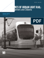 The Economics of Urban Light Rail