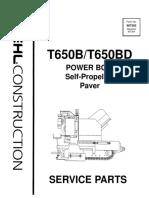 T650B-T650BD-Asphalt-Paver-Parts-Manual-907363