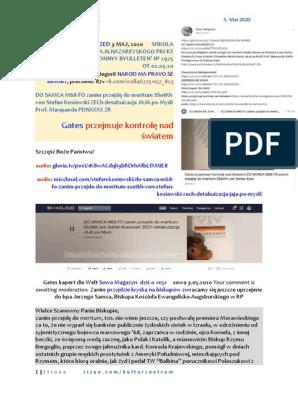 Gates przejmuje DO SAMCA M68 FO  SSetKh von Stefan Kosiewski ZECh detabuizacja JAJA Prof. Marquard PDNXXXX ZR 20200505 ME SOWA Gates kapert die BRD 3D