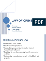 Law of Crimes - Introduction