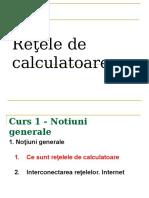 Retele de Calculatoare