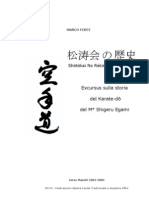 (eBook - Karate - Ita) Marco Forti - Shotokai No Rekishi