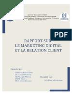 391225214 Le Marketing Digital Et La GRC