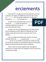 REMERCIEMENTS 5