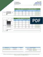 Data Sheet - ASME BPE 2012, Ferrule DT22B