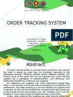 Order Tracking System