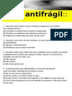 Teste Antifrágil
