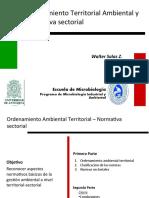 12. Ordenamiento Ambiental - Normativa Sectorial