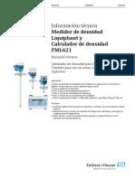 Ficha tecnica FML621