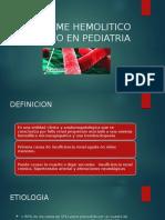 13. SINDROME HEMOLITICO UREMICO EN PEDIATRIA.pptx