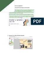 Cómo utilizar las presentaciones de GoogleDocs.docx