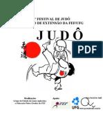 1º FESTIVAL DE JUDÔ - LOGO