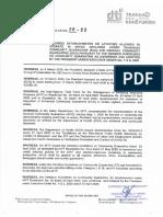 Department of Trade and Industry Memorandum Circular No. 20-22 series of 2020
