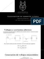 8 - FUNDAMENTOS DE CORRIENTE ALTERNA