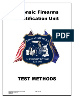 Firearms and Toolmarks Test Method - INDIAN POLICE DEPT