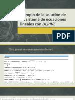 Solución de un sistema de Ecuaciones Lineales DEFINITIVO.pptx
