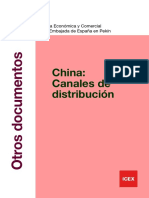 Canales de distribucion en china