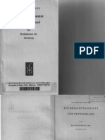 Extrakt Buch Ein Besatzungsstatut Fuer Deutschland Wilhelm Grewe 1948