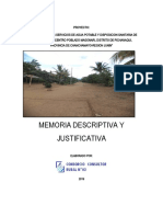 1.0 Memoria Descriptiva