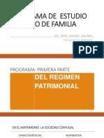REGIMEN ECONOMICO DEL MATRIMONIO Y LA UMH (1)