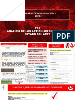 UNIDAD II_ TB2_ANÁLISIS DE LOS ARTÍCULOS CIENTIFICOS