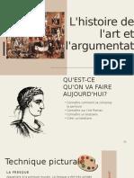 L'atelier de l'histoire de l'art et comment argumenter