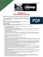 Stompracing PDI Sheet [assembly & running check]