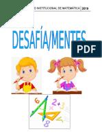 Proyecto de Matemática 2019 DESAFÍA-MENTES