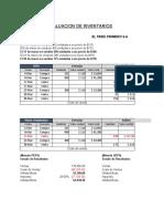 Valuación-de-inventarios PEPS UEPS PROMEDIO