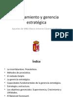 2. Planeamiento y gerencia estratégica