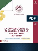 4. La concepción de la Educación desde la perspectiva cristiana