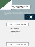 2 Inverse Laplace Transform by Partial Fractions