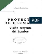 13. González Faus - Proyecto de hermano