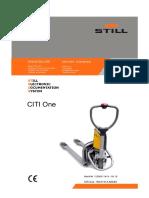 DESPIECE STILL  CITI ONE ( TRANSPALETA MANUAL-ELECTRICA