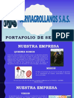 Portafolio Serviagrollanos s.a.s
