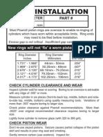 Piston Ring Installation Generic