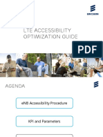 LTE Accessibility Opitimization Guide