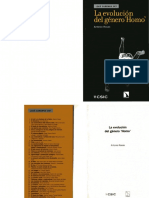 ROSAS GONZÁLEZ A - La evolución del género Homo.pdf
