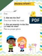 Catecismo infantil Ilustrado parte 1