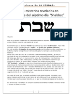 SOD-Shabbat - Misterios Revelados en Las Letras Hebreas
