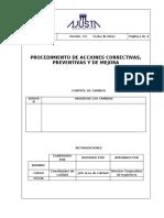 PR-GC-02 Procedimiento de Acciones Correctivas, Preventivas y de Mejora-AJUSTA-00.doc