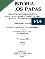Ludovico Pastor - Historia de Los Papas - 03