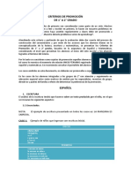 CRITERIOS DE PROMOCION DE 1° A 2° GRADO