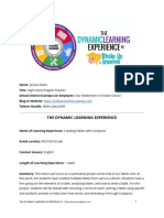 copy of dynamic learning experience  dle  template