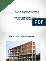 Análisis estructural Idealizaciones y Tipos de Cargas
