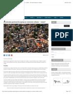A missão pastoral da igreja no contexto urbano – como? | SEPAL – Servindo Pastores e Líderes
