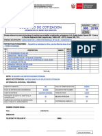 SOLICITUD DE COTIZACION N° 006-2018 - MATERIALES DE ESCRITORIO
