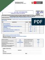 SOLICITUD DE COTIZACION N° 008-2018 - ACCESORIOS ELECTRICOS