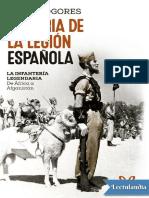 Historia de la legion espanola - Luis E Togores