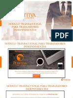 INSTRUCTIVO MODULO DE INDEPENDIENTES ARL